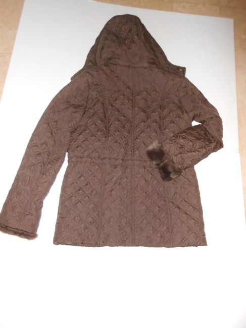 Marc New York Of Ny Lisa Jacket Hoodie Quilted Lined Pea Coat