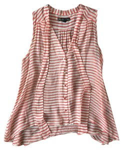 Elizabeth and James Nautical Striped Top Red