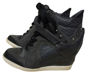 Guess Wedge Sneaker Dark gray Athletic