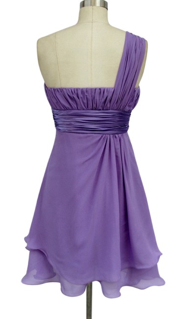 Other One Sh One Shoulder Chiffon Dress
