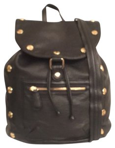 deux lux Faux Leather Vegan Leather Studded New Backpack