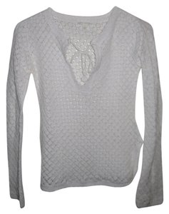 Banana Republic Crochet V-neck Knit Tunic