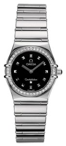 Omega Omega Women's Constellation My Choice Quartz Diamond Bezel Watch
