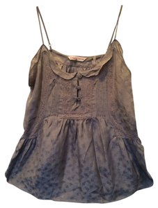 Rebecca Taylor Roses Lace Top Lavender