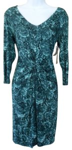 Karen Kane short dress Dark Teal on Tradesy