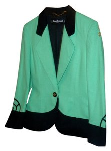 Louis Feraud Louis Feraud Mint Green Jacket with Unique Sleeves