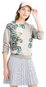 J.Crew Flowers Sweatshirt