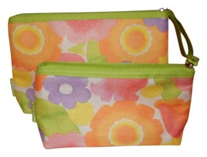 Clinique 2 Clinique Brand New Cosmetic Bags/Floral
