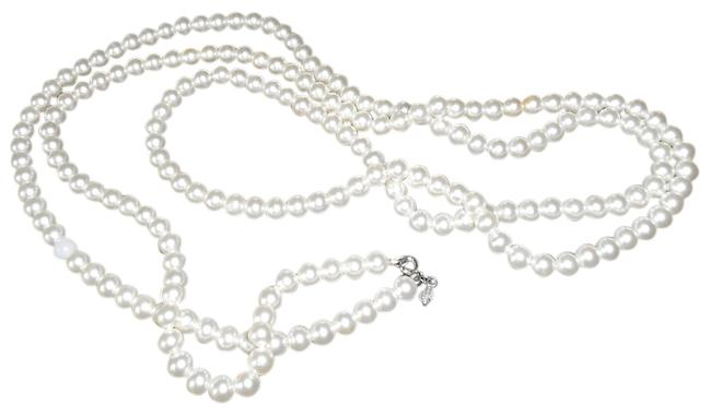 Item - Vintage White Pearls Costume Necklace