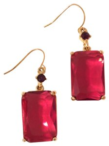 Ralph Lauren Faceted Glass Stones Dangle
