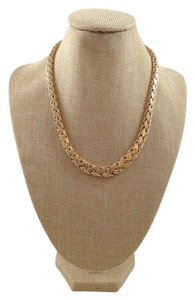 Tiffany & Co. Tiffany & Co. 14k Yellow Gold Russian Weave Necklace