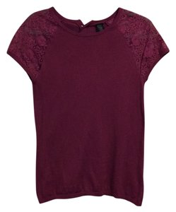 Banana Republic Top Light Burgundy