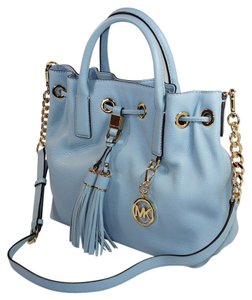 Michael Kors Blue Handbag 30f5gmds2l Satchel in Pale Blue