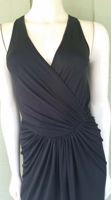 Andrew Marc Stretch Ruched Dress