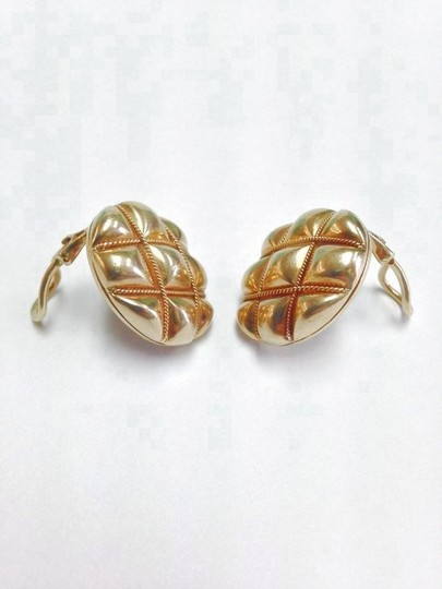 Tiffany & Co. Tiffany & Co. Vintage 18k Solid Yellow Gold Oval Rope Earrings
