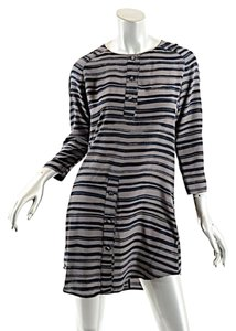 Kelly Wearstler short dress Taupe & Black Tunic on Tradesy