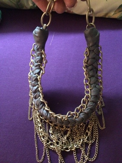 Banana Republic Banana Republic Ariel Braid & Chains Necklace