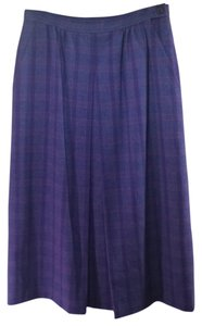 Pendleton Vintage Plaid Wool Skirt