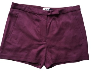 Acne Dress Shorts wine