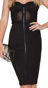 Nasty Gal Structured Comfortable Mesh Dress
