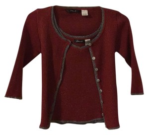 Arden B. Top Red/Silver