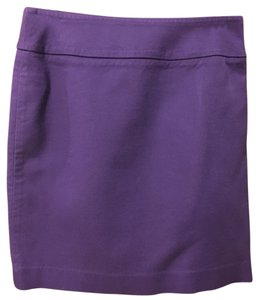 Banana Republic Mini Skirt Purple