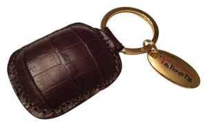 Talbots Talbots Leather Key Ring/Key Fob