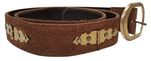 Other Vintage Suede Unique belt size small