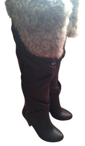 Bakers Leather Over The Knee Boots Boots