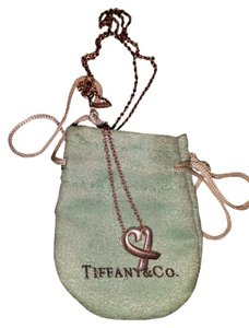 Tiffany & Co. Picasso Loving Heart Necklace