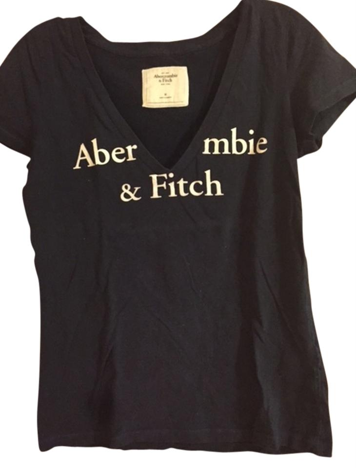 Abercrombie Fitch T Shirt Navy 14 Off Retail