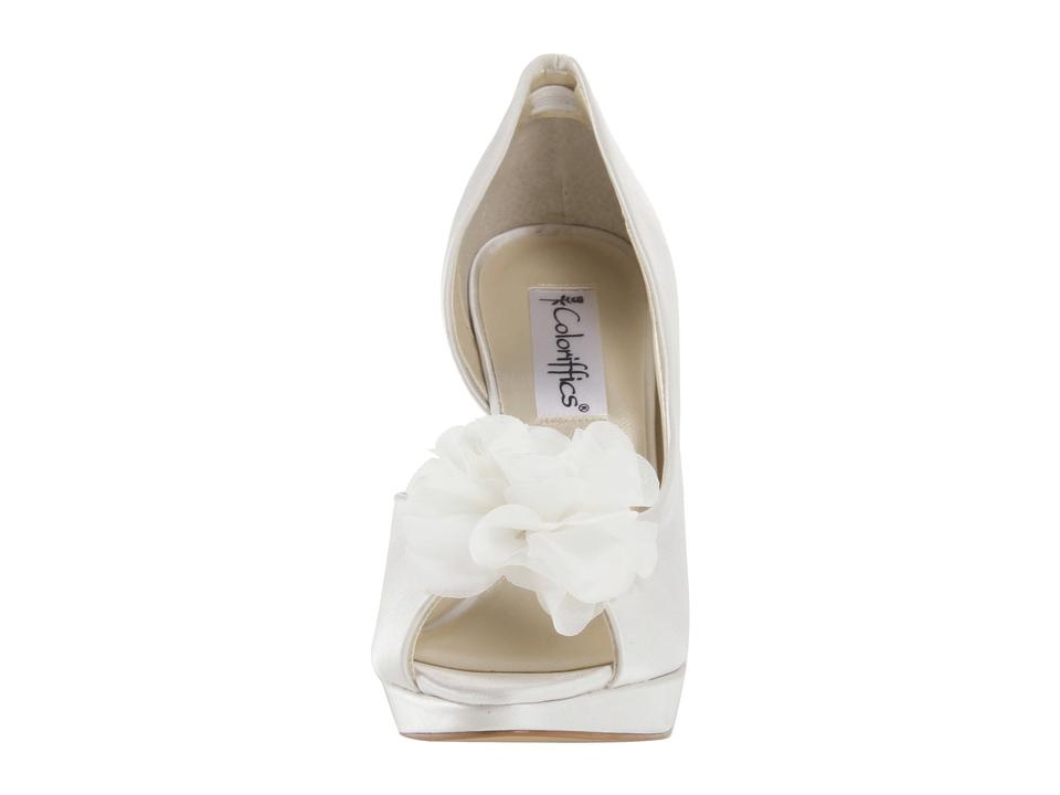 Flower Embellished Coloriffics Pumps Danica Ivory xq8SSwYR