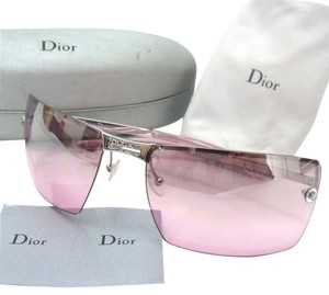 Dior Christian Dior ADIRABLE2 Silver Frame Pink Sunglasses 6816 / 2f94