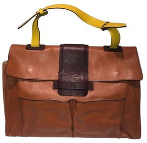 Maje Satchel in Camel