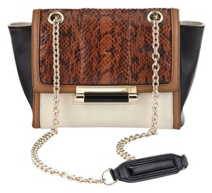 Diane von Furstenberg Mini Leather Color-blocking Cross Body Bag