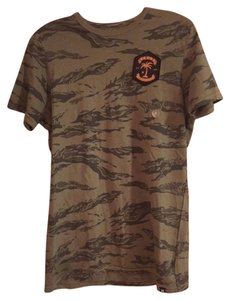 Hurley T Shirt Army Green