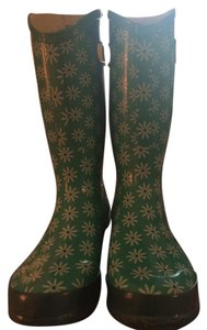 Bogs Teal Daisy/Multi Boots