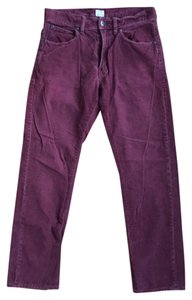J.Crew Relaxed Pants Maroon