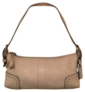 Coach Leather Hobo Small Shoulder Bag