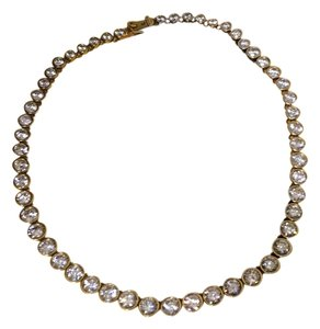 MICHAEL Michael Kors Michael Kors Crystal & Gold Necklace