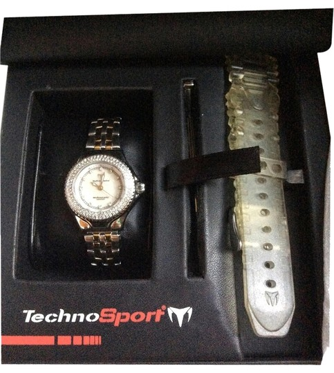 Preload https://item1.tradesy.com/images/technomarine-titanium-techno-lady-in-2-tone-watch-1255720-0-0.jpg?width=440&height=440