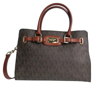 Michael Kors Hamilton Medium Tote in Brown