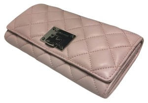 Michael Kors Michael Kors Astrid Carryall Clutch Wallet Quilted Blossom Leather