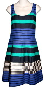 Ann Taylor LOFT New Sleeveless Work To Night Fit And Flare Dress
