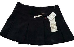 Guess Mini Black Pleats Mini Skirt