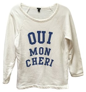 J.Crew French Crewneck Sweater
