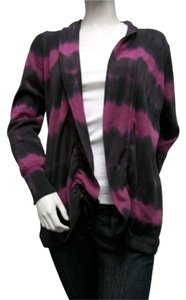 Tribal Magenta Black Sweater