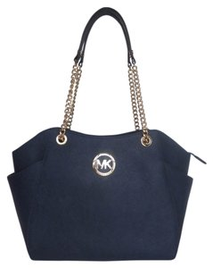 Michael Kors Leather Tote Shoulder Bag