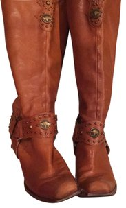 Antonio Melani Tan / light brown Boots