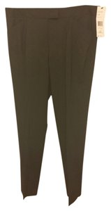 Lafayette 148 New York Straight Pants Green